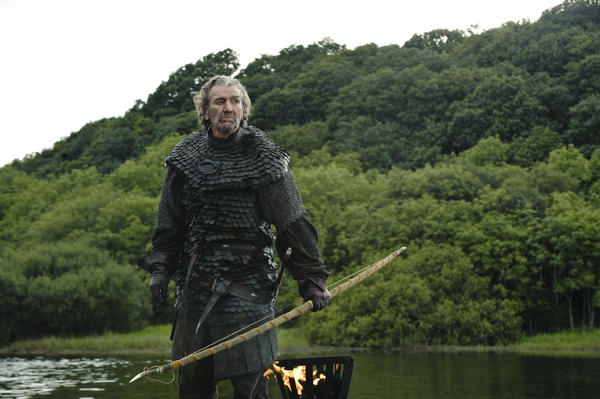 "Clive Russell portrays Brynden ""The Blackfish"" Tully in HBO's ""Game of Thrones."""