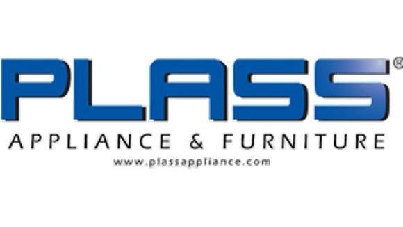 Plass Appliance logo.
