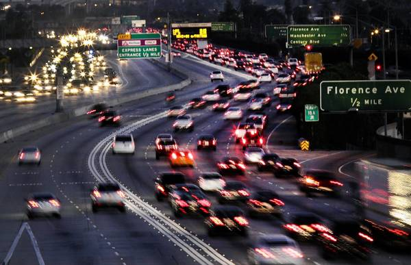 Toll lanes on L.A.'s 10 and 110 freeways have proved a mixed blessing so far, transportation officials say.