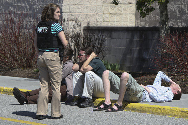 Aftermath of Virginia mall shooting