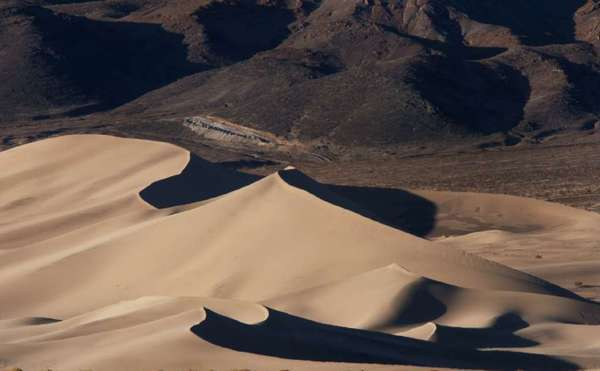 The Ibex Dunes in Death Valley National Park are part of the beauty of the California desert. Entrance to the park will be free every day next week.