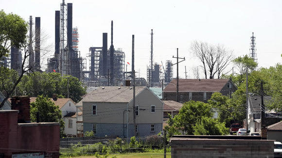 The BP refinery in Whiting, Ind., in a 2012 file photo.