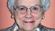 Madeline L. Healey, a homemaker who was an executive secretary to two Maryland first ladies, died of an intestinal blockage April 5 at Gilchrist Hospice Care in Towson. The former Annapolis resident lived in Cockeysville and was 92.