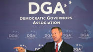 Martin O'Malley was selected by his peers Wednesday to chair the Democratic Governors Association, a platform from which he says he will build the party and promote candidates who will invest in education and infrastructure.