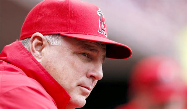 If you think the Angels are hard to watch, imagine what it must be like for Manager Mike Scioscia.