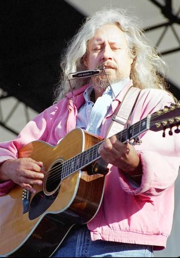 Folk singer Arlo Guthrie is performing at Irvine Barclay Theatre.