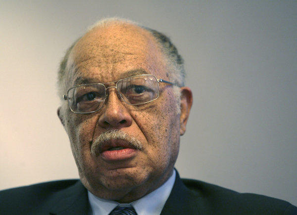 Dr. Kermit Gosnell is seen during an interview in March 2010 with the Philadelphia Daily News at his attorney's office in Philadelphia.