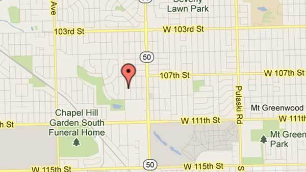 10800 block of LaPorte Avenue in Oak Lawn
