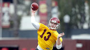 The competition to replace Matt Barkley as USC's starting quarterback will not end Saturday in the Trojans' final spring scrimmage at the Coliseum.
