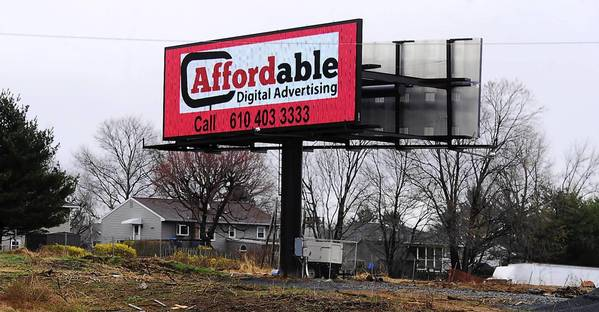 Palmer Township filed a lawsuit Friday asking a Northampton County Court to shut down a digital billboard along Route 22.