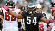 — Brandon Graham has always been a stand-up guy. But literally?