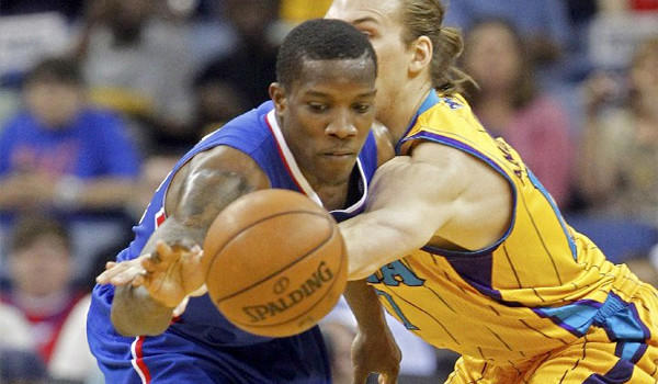 Eric Bledsoe had nine points off the bench for the Clippers in L.A.'s 96-93 victory over the New Orleans Hornets.