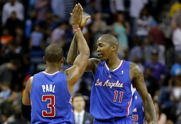 Clippers guard Jamal Crawford (11) scored 10 points in the fourth quarter to help L.A. defeat the New Orleans Hornets.