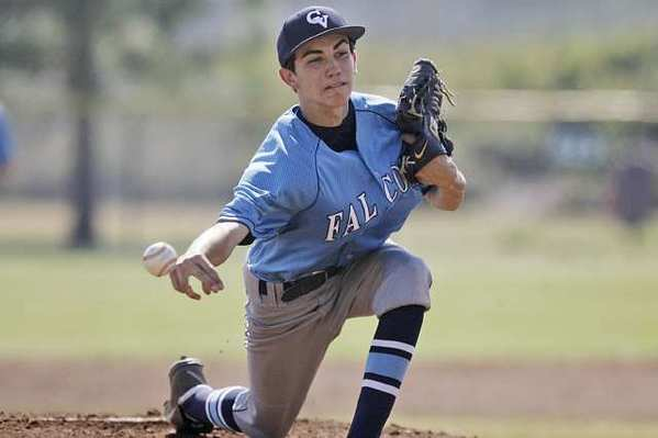Crescenta Valley High's Brian Gadsby had another great outing against Pasadena High.
