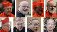 ROME -- Pope Francis launched a long-awaited cleanup of the Vatican by announcing a task force Saturday made up of eight high-ranking cardinals, including one American, who will determine how best to reform the much-criticized Curia, or Vatican administration.