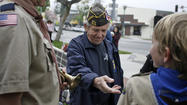 First welcome home Vietnam veterans ceremony