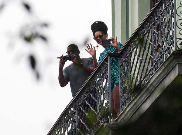 Jay-Z and Beyonce caused a stir with their visit this month to Cuba.