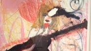 Courtney Love's Art Show Opening at Lyman Allyn
