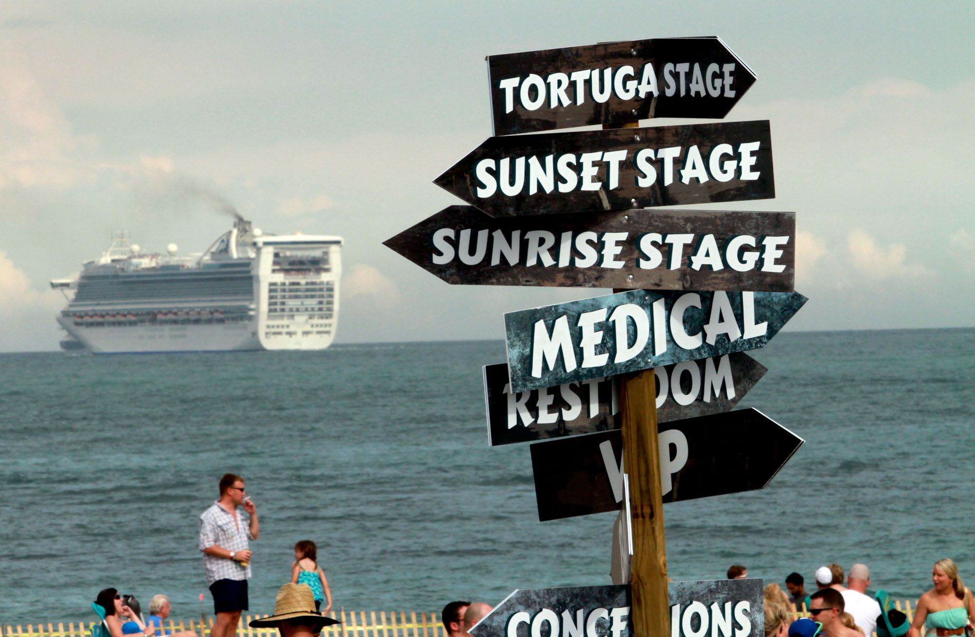 PHOTOS: 2013 Tortuga Music Festival - Navigating Tortuga