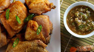 Marinades and sauces transform fried chicken