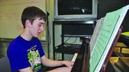 It takes 17-year-old Ryan Gerney a few moments and a glance around his high school band room to start a list of instruments he can play.