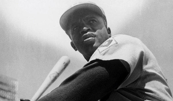 Magic Johnson has made it a priority to renew the ties between the Dodgers and the family of their most historically significant alumnus, Jackie Robinson, above.