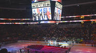 Frozen Four Pregame Ceremony