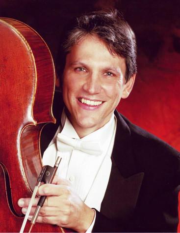 Cellist Wesley Baldwin will be in Aberdeen this week.