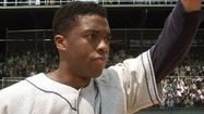 Jackie Robinson beat the odds again this weekend, as a film about the player who broke baseball's color barrier outperformed at the box office.