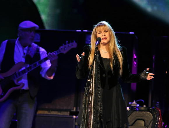 Stevie Nicks, of Fleetwood Mac, at the United Center on Saturday.