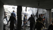 JERUSALEM - An Israeli investigation into the worst civilian tragedy of last November's Gaza Strip offensive – an attack that killed 10 members of a single family and two neighbors – concluded that soldiers bombed the home by mistake and should not face criminal charges or other disciplinary action.