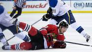 Blackhawks 2, Blues 0