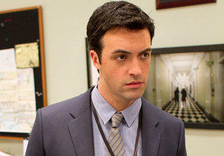 "Reid Scott as Dan Egan in HBO's ""Veep."""