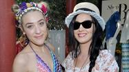 "Katy Perry, Sophia Bush, Julianne Hough, director and actor Eli Roth and more stepped away from the Coachella Music and Arts Festival grounds Friday to fete <a href=""http://shop.harpersbazaar.com/"">ShopBazaar</a>, Harper's Bazaar's editor-run e-commerce site. The Gene Autry pool at the Parker Palm Springs hotel was transformed into a desert oasis with flowing Champagne, bikinis and shopping."