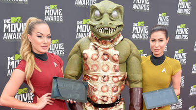 MTV Movie Awards 2013: Red carpet arrival pics