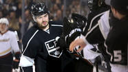 Kings defenseman <strong>Drew Doughty</strong> was limited to one goal in his first 37 games. In the last five games, he has put the puck in the net four times.