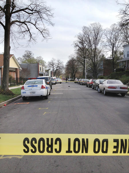 A 16-year-old boy was shot in the 1600 block of North Ellamont Street in Baltimore.