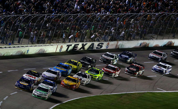 The NASCAR Sprint Cup Series NRA 500 at Texas Motor Speedway.