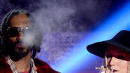 Snoop Lion and Ke$ha pretend to smoke pot