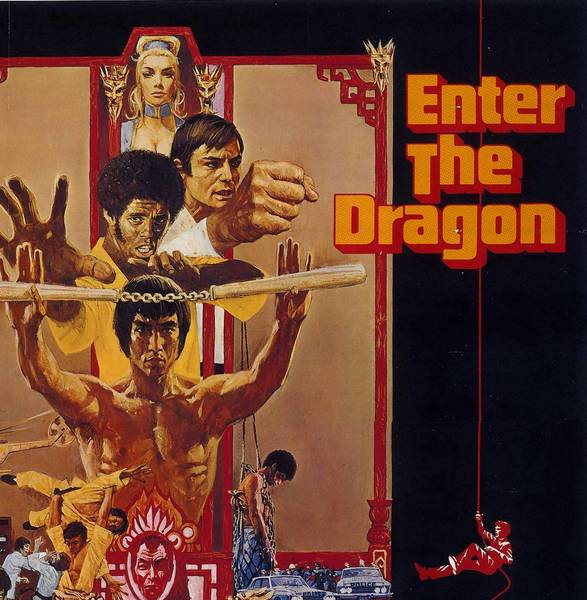 """Enter the Dragon"" (1973) stars Bruce Lee as a master martial artist who wants revenge on the gang that killed his sister."