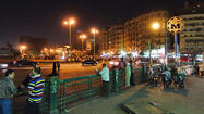 Cairo's main square, Tahrir Square, was the center of the massive political upheaval that finally toppled Mubarak in 2011.