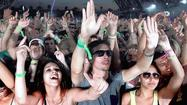 The heaviest place to be at Coachella 2013, from a sound perspective, wasn't in the sweet spot of the Main Stage rig while Phoenix was preparing for the arrival of R. Kelly, or at the heart of the Sahara stage during Baauer's big, dumb, joyous set of beat music, heavy on the synth riffs and dirty beats.