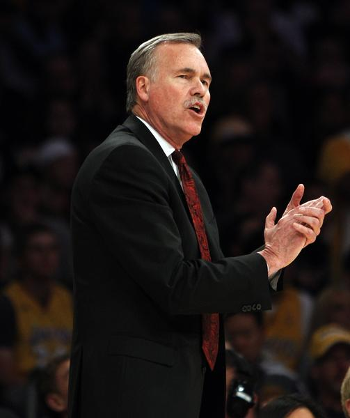 Coach Mike D'Antoni guided the Lakers to a 7-1 record in April. Going back farther, they won 28 of their final 40 games.
