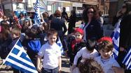 Students March in Greektown Parade