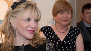"On Friday, April 12, at the artist reception for the new exhibit at Lyman Allyn Art Museum in New London, a reporter asked Courtney Love what the best part was about celebrity. She answered ""The guy behind the ticket counter is nice to you, sometimes."""