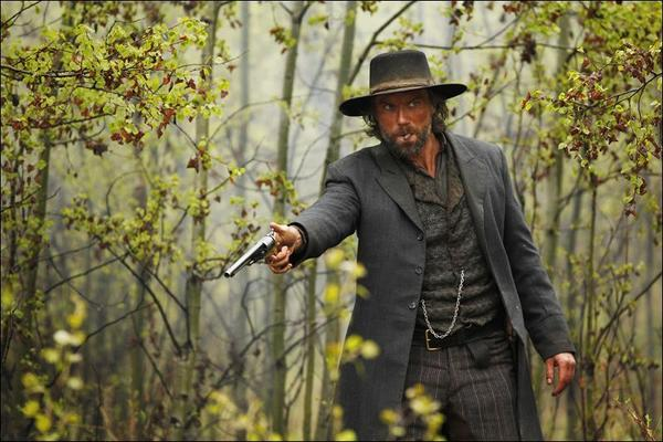 "Anson Mount as Cullen Bohannan in ""Hell on Wheels."""