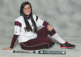 Brittany Bickelman, the Porters' first baseman, hopes to take her team to a state title.