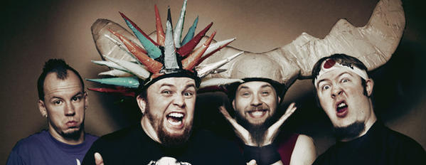 Photo provided Psychostick will perform April 17, 2013, at Cheers Pub in Roseland.