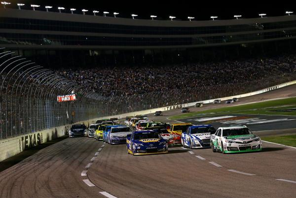 The NRA 500 at Texas Motor Speedway on Saturday took a tragic turn when a fan shot and killed himself in the infield.