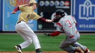 "The District 11 Baseball Championships <a href=""http://www.mcall.com/sports/varsity/mc-parkland-whitehall-baseball-20130413,0,1330413.story"" target=""_blank"">will continue to be at Coca-Cola Park</a> thanks to a joint sponsorship being announced today at a press conference. … The <a href=""http://www.mcall.com/sports/mc-phillies-04014-20130414,0,2564787.story"" target=""_blank"">Phillies continue their road trip </a>with the first of three games in Cincinnati at 7:10 p.m. on Jackie Robinson Day. The Phillies (6-6) try to get above the .500 mark for the first time this season. … Eagles GM Howie Roseman <a href=""http://www.mcall.com/sports/mc-eagles-roseman-draft-0415-20130415,0,2842057.story"" target=""_blank"">talks about the team's needs in the upcoming NFL Draft.</a> … The 117<sup>th</sup> running of the Boston Marathon had several locals competing.  Ethiopia's Lelisa Desisa won the men's division of the Marathon, while Kenya's Rita Jeptoo was the women's winner … The <a href=""http://www.mcall.com/sports/mc-ironpigs-road-syracuse-0414-20130414,0,800154.story"" target=""_blank"">Lehigh Valley IronPigs</a> continue their road trip with a 6:15 p.m. game in Pawtucket. Tyler Cloyd (0-2, 10.13 ERA) gets the start for the Pigs … The Flyers, sitting 13<sup>th</sup> in the Eastern Conference playoff standings, nine points out of a postseason berth, visit Montreal. … More from the Masters, <a href=""http://www.mcall.com/sports/mc-eagles-roseman-draft-0415-20130415,0,2842057.story"" target=""_blank"">which saw Aussie Adam Scott win in a playoff</a> over Angel Cabrera. … Doug Collins <a href=""http://www.mcall.com/sports/mc-76ers-collins-0414-20130414,0,5603678.story"" target=""_blank"">is expected to step down</a> after coaching the final two games of the 76ers' regular season. He led the club to playoff berths in his first two seasons in charge."